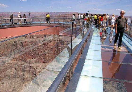 Skywalk, maravilla arquitectónica en el Grand Canyon