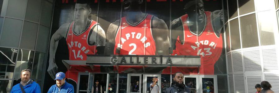 Viaje a la Finales de la NBA así es Jurassic Park en Toronto Raptors vs Golden State Warriors